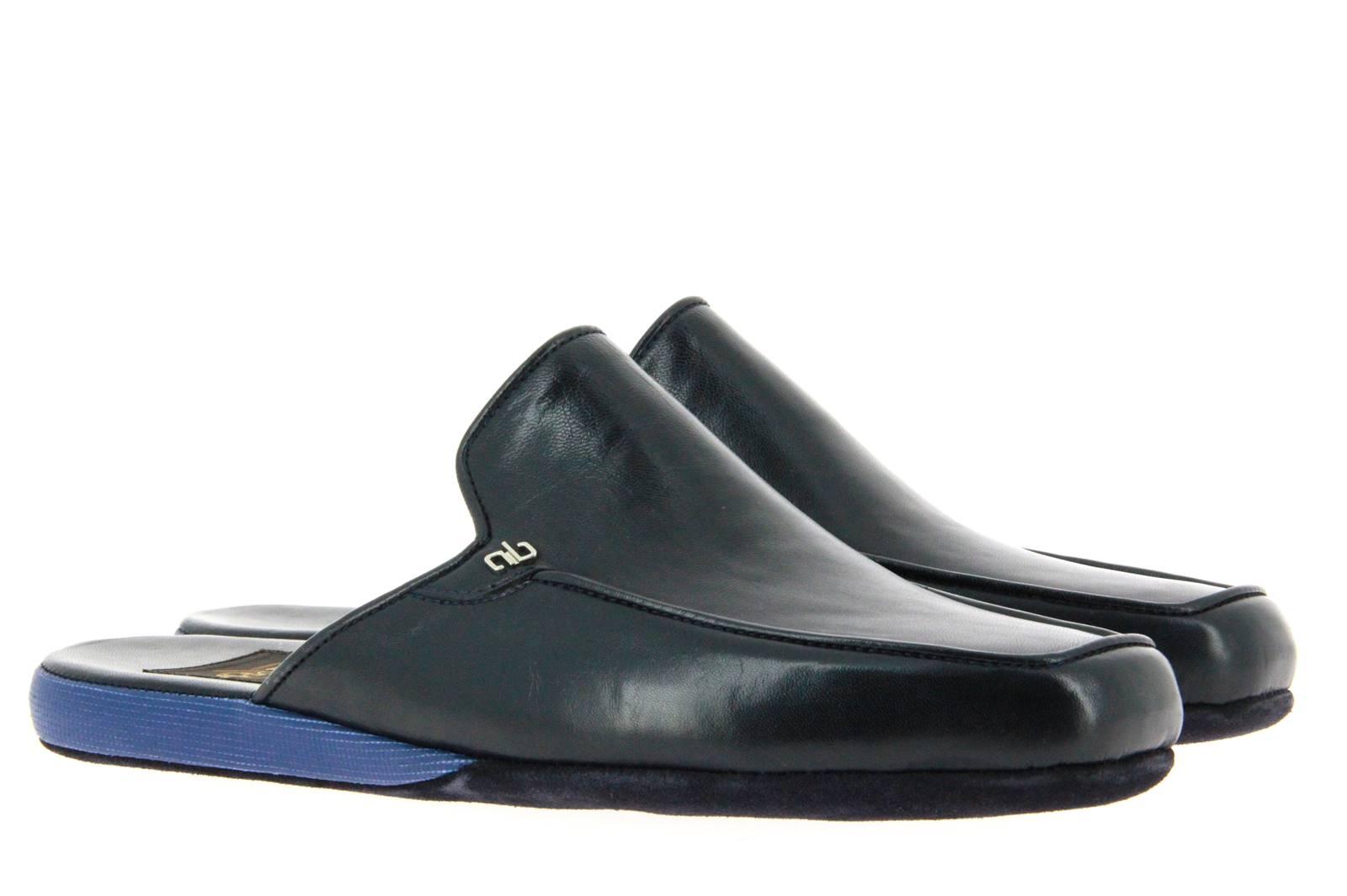 Aldo Bruè house shoe NAPPA NAVY