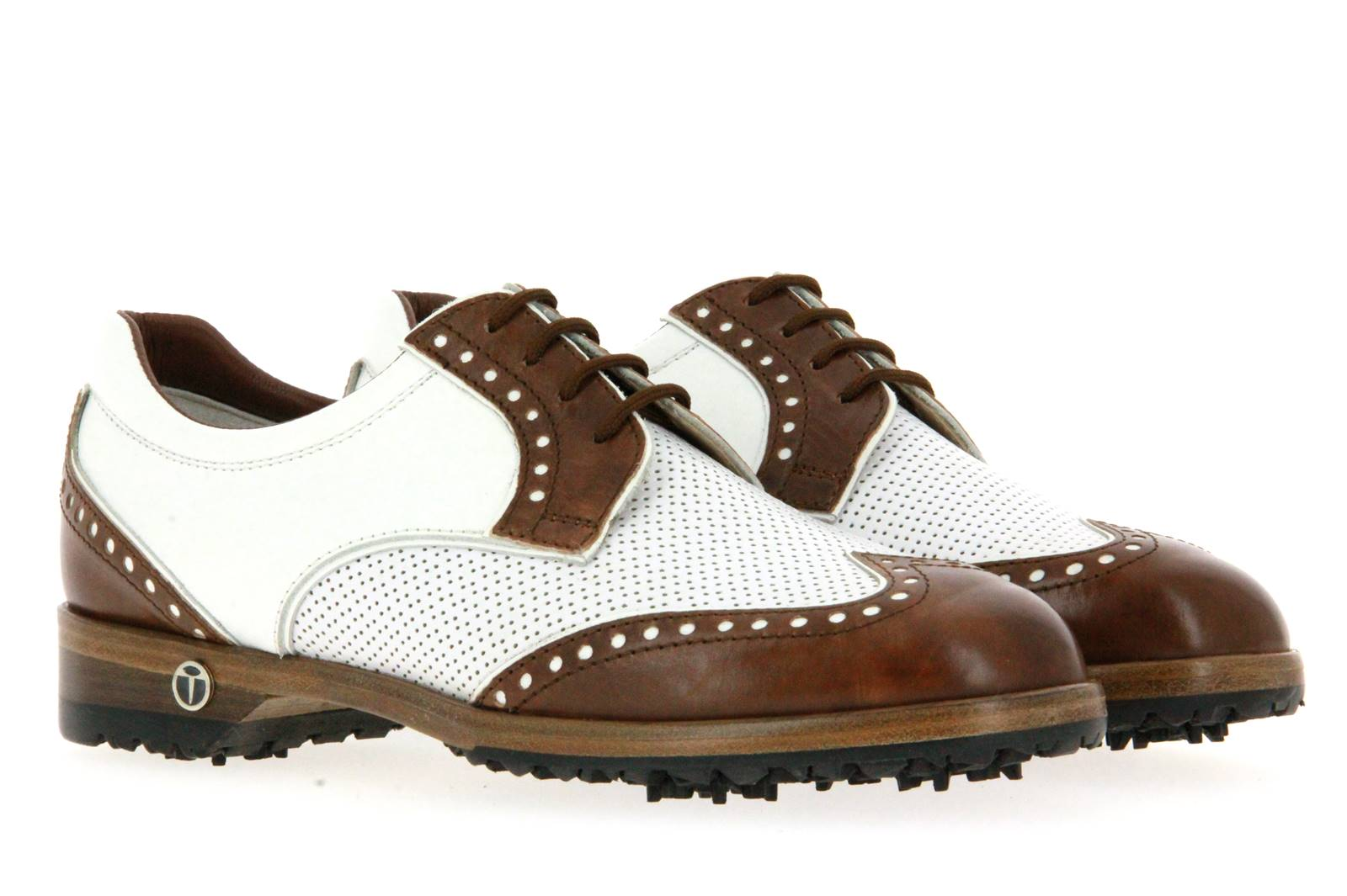 Tee Golf Shoes women's - golf shoe SALLY SAPIN BRANDY BIANCO