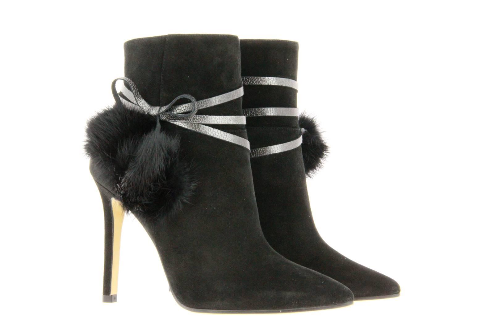 Lodi high heel ankle boots VINNY SILK NEGRO