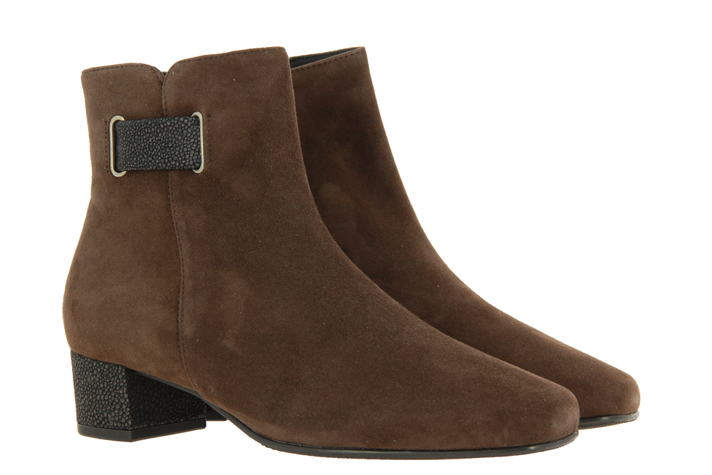 Hassia ankle boots EVELYN DARKBROWN BRONZE
