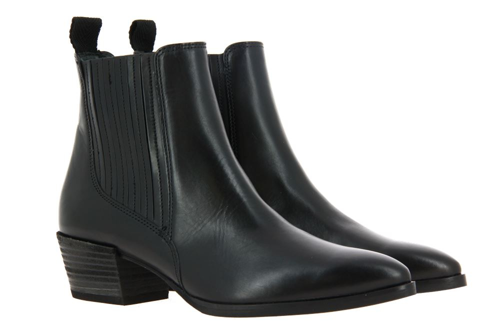 Paul Green ankle boots BRUSH CALF BLACK