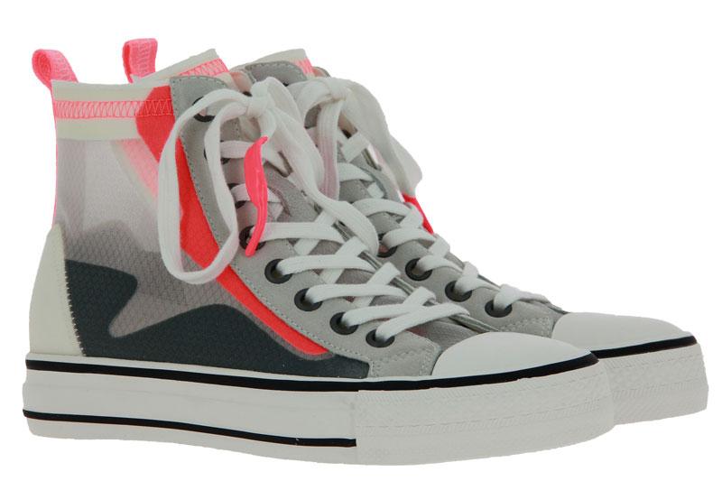 ASH sneaker GASPER RIPSTOP NYLON TRANSPARENT CORAL