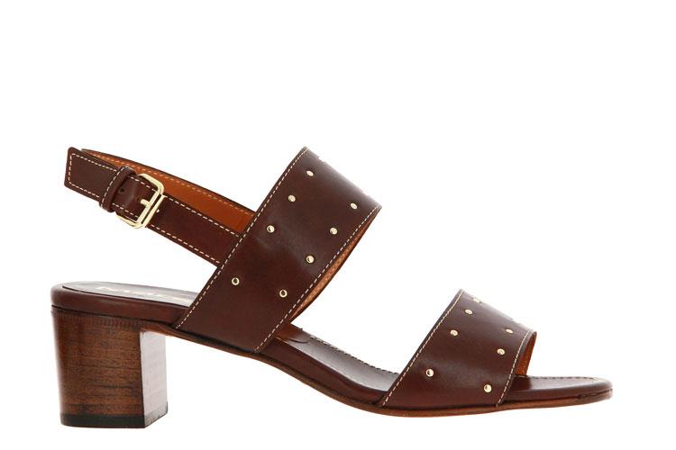 Maretto sandals LEATHER MARRON