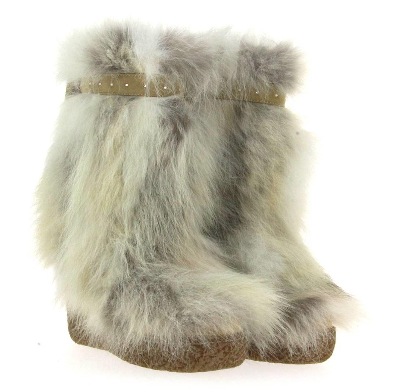 Diavolezza fur boots COYOTE
