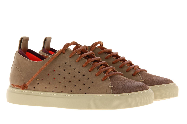 Levius sneaker RIVA MISTA CAMOSCIO TAUPE COCCO