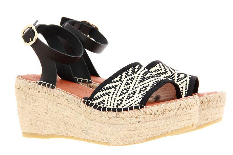 Macarena wedge sandals NAYA42 NEGRO