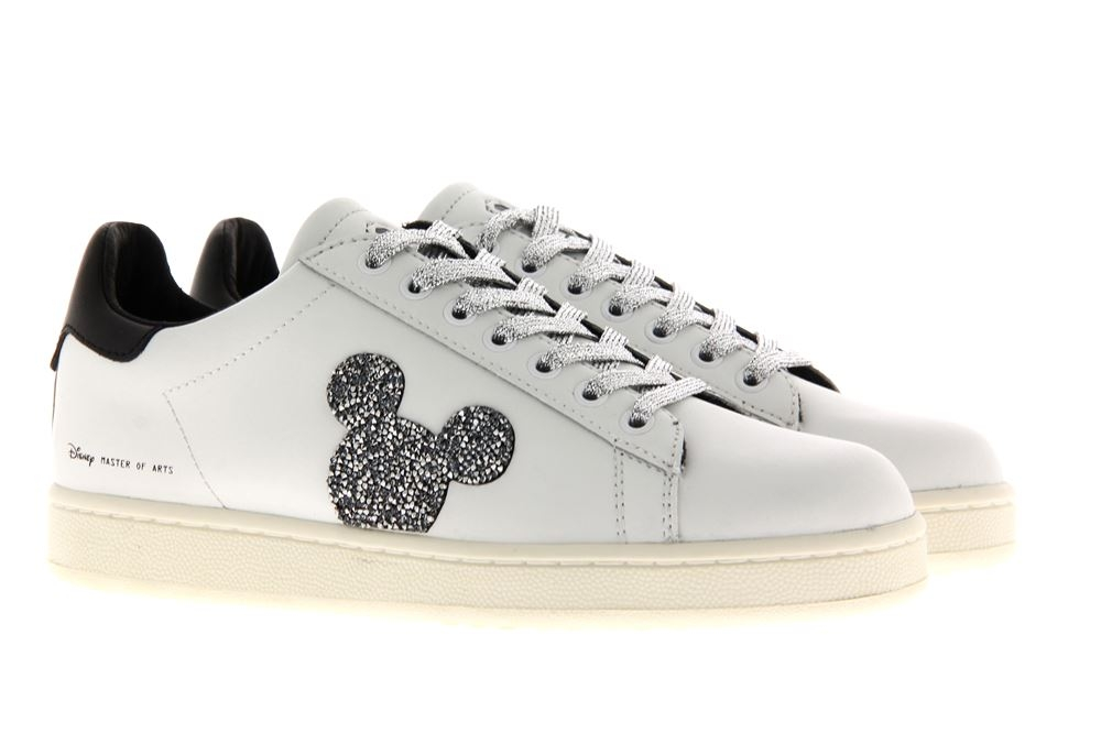 MoA sneaker ACTION WHITE SWAROVSKI MICKEY