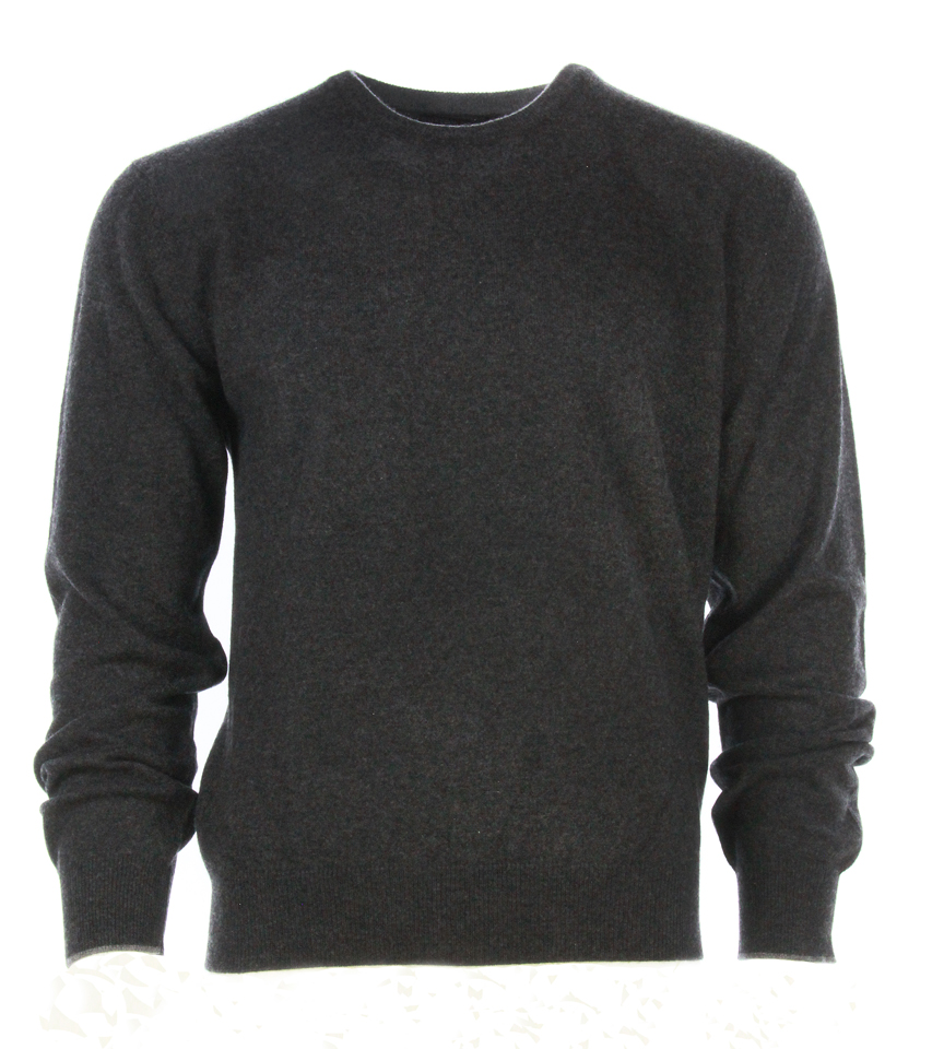 Buxton Street sweater CASHMERE DARK GREY