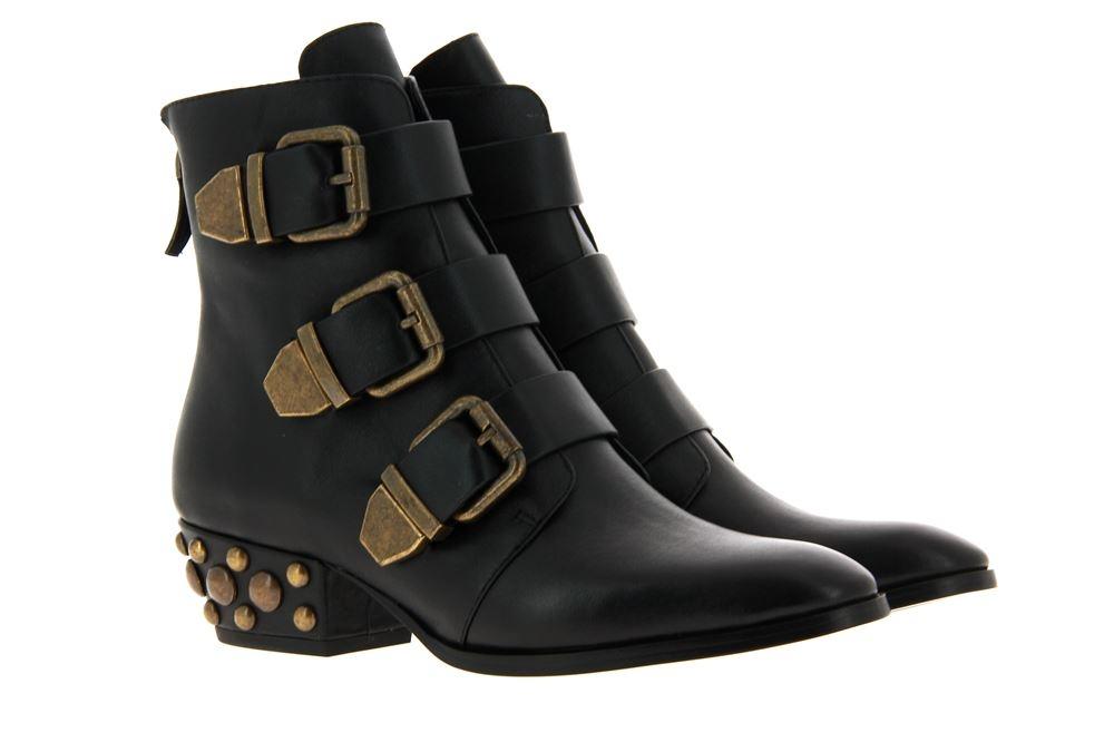 Lola Cruz ankle boots NAPPA BLACK