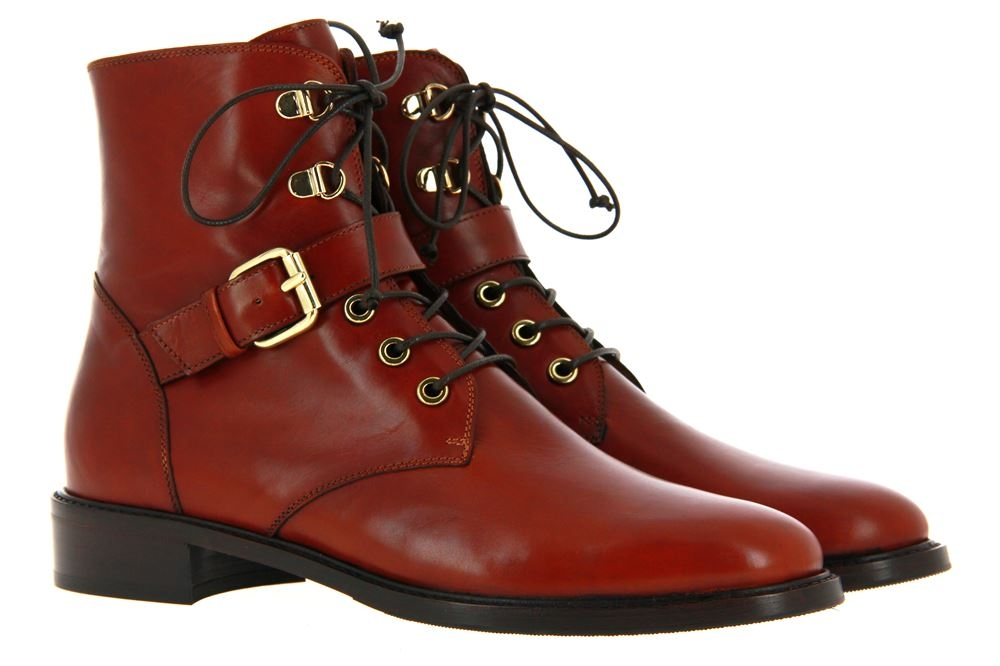 Maretto ankle boots LEATHER TABACCO