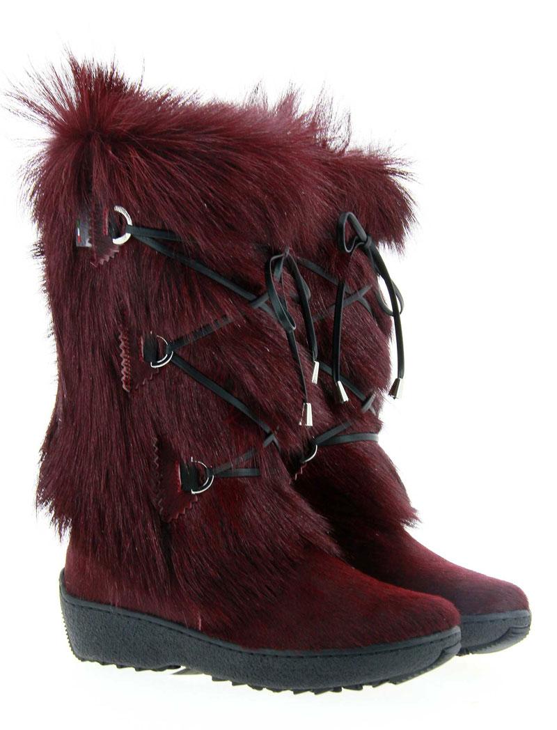 Oscar Sport fur boots JULIA BORDO