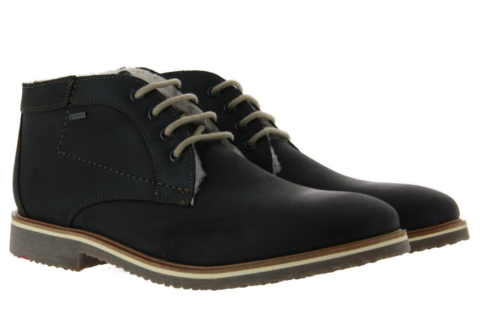 Lloyd lace-up ankle boots lined VARUS MANO HYDRO SCHWARZ