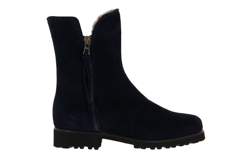 Gabriele ankle boots lined SILVIA CAMOSCIO MARINE