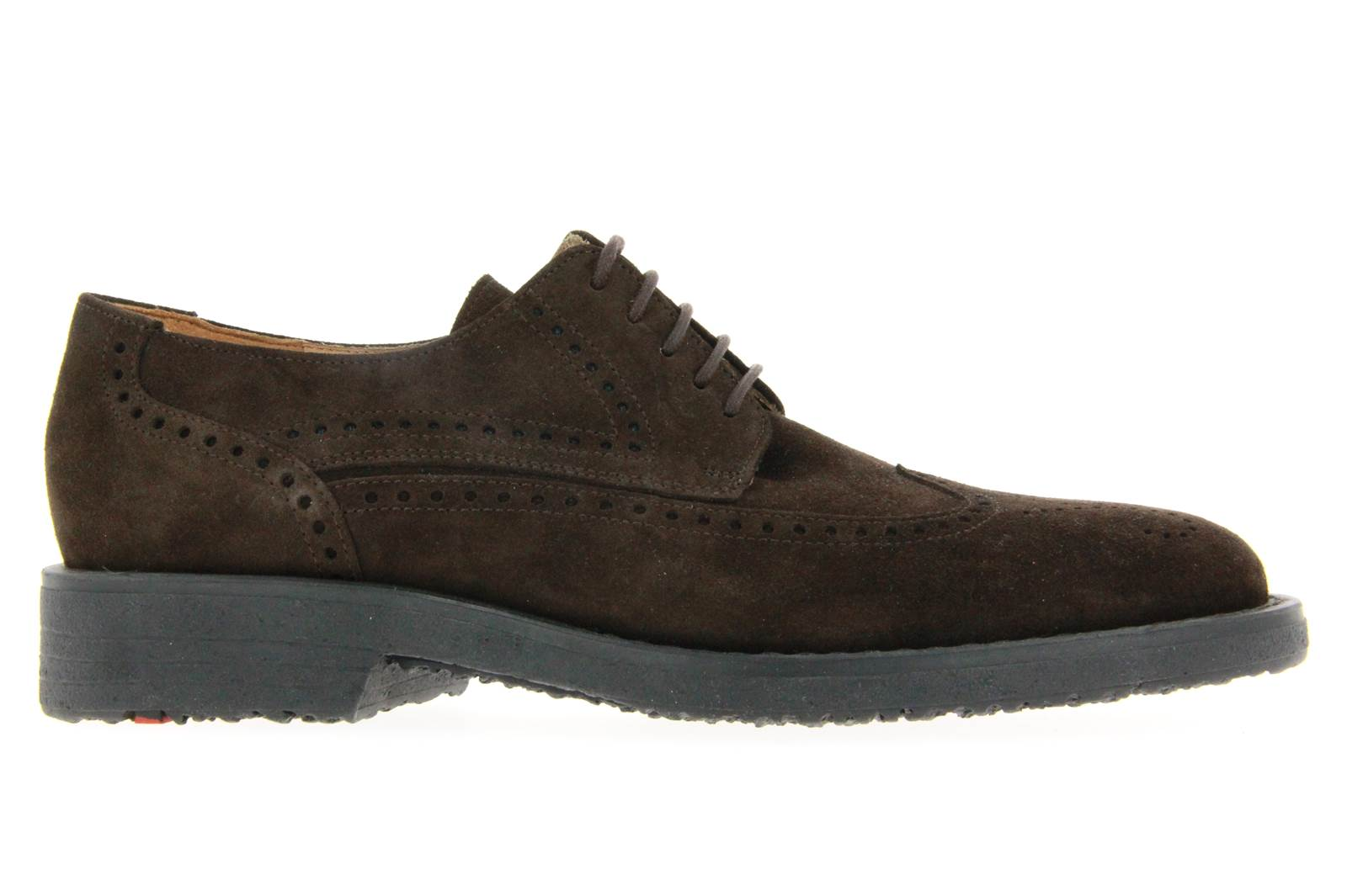 Lloyd Lace Up IRVING VELOUR BROWN