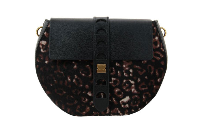 Coccinelle shoulder bag CAROUSEL PONY BORSA MULTI NOIR
