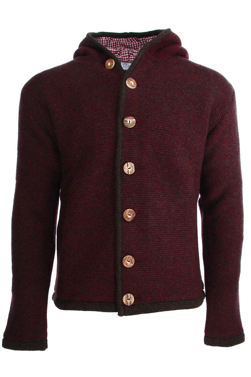 Liebling Tyrolean jacket THOMAS DELUXE BRAUN BORDO