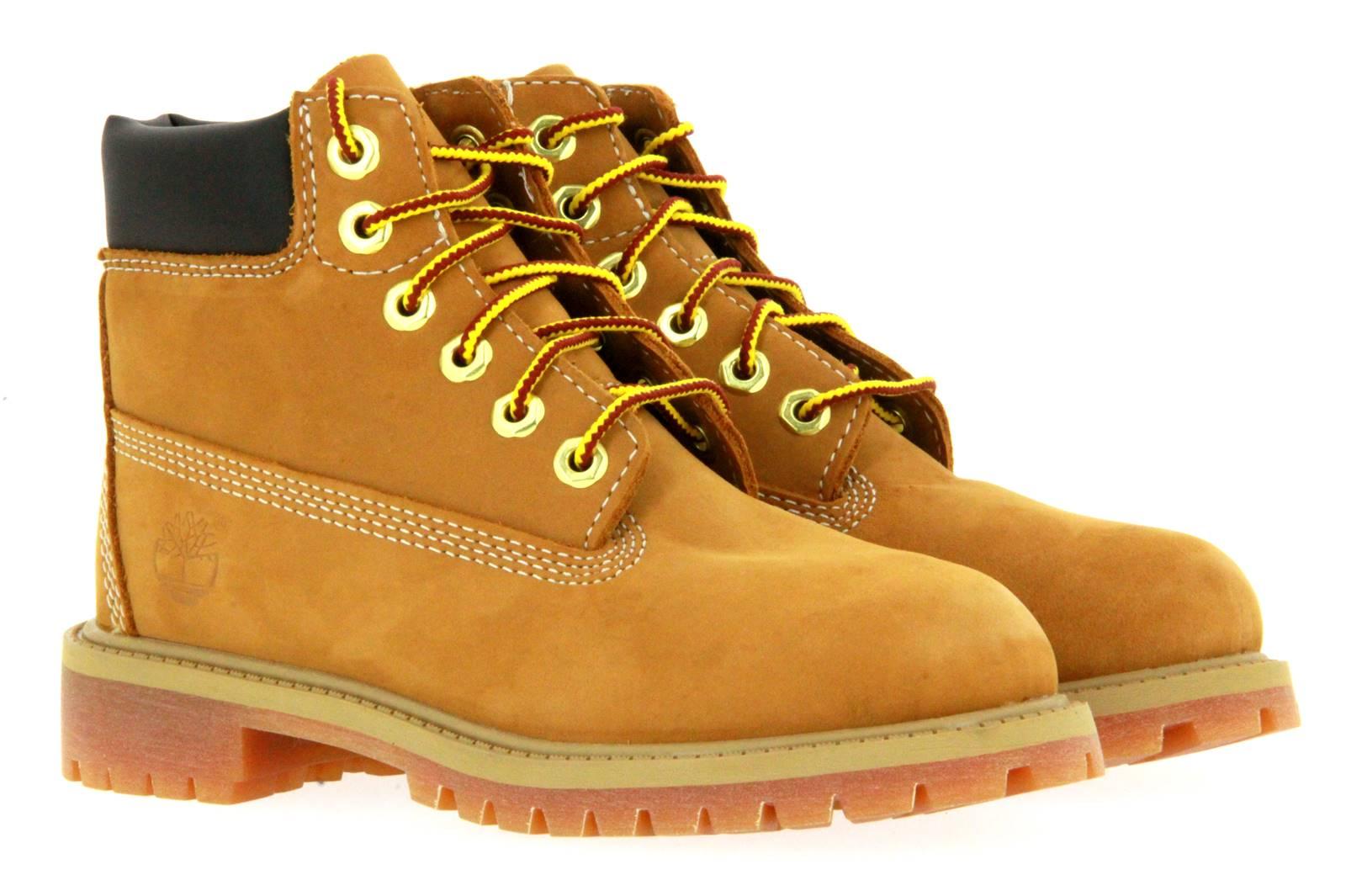 Timberland boots JUNIOR 6 INCH PREMIUM WHEAT NUBUK YELLOW