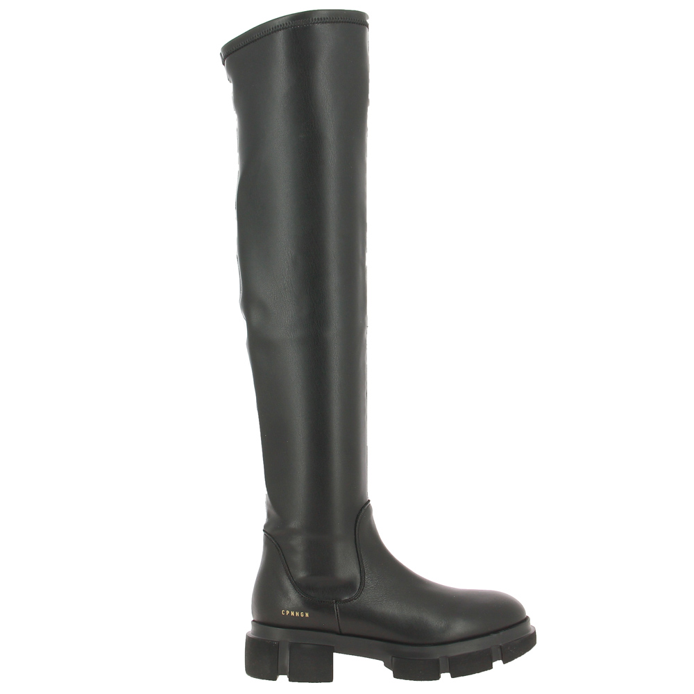 Copenhagen stretch boots CPH544 VITELLO VEGAN STRETCH BLACK