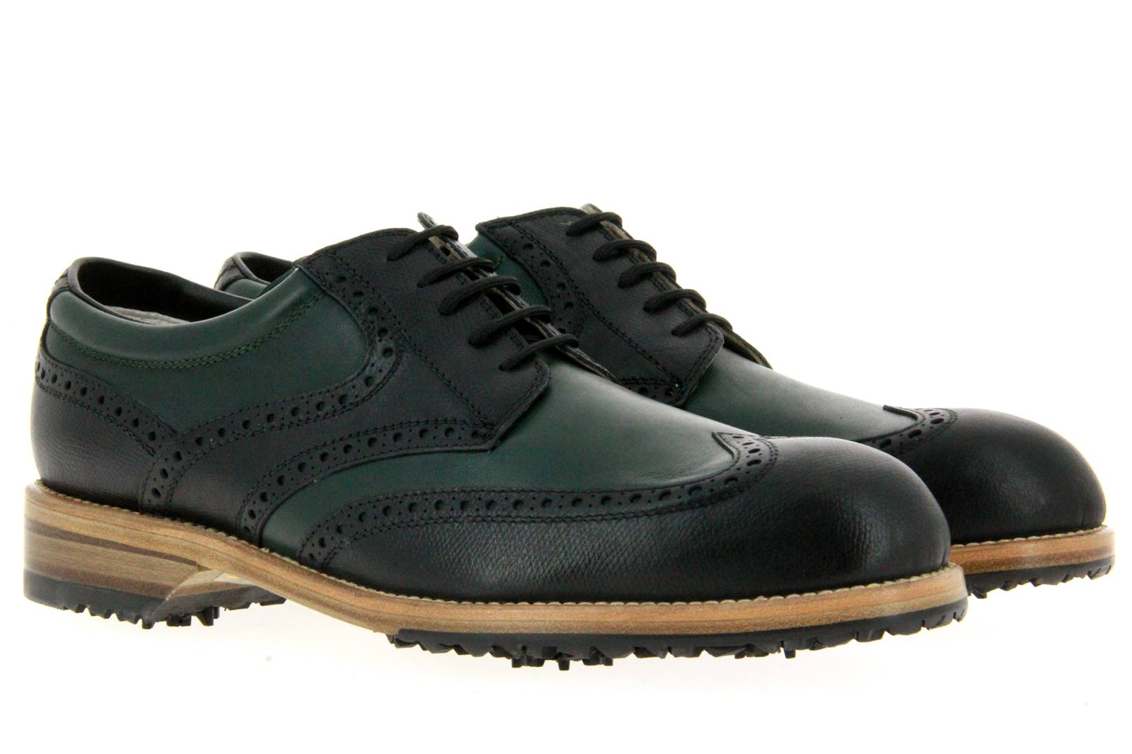 Tee Golf Shoes men's - golf shoe TOMMY NERO VERDE