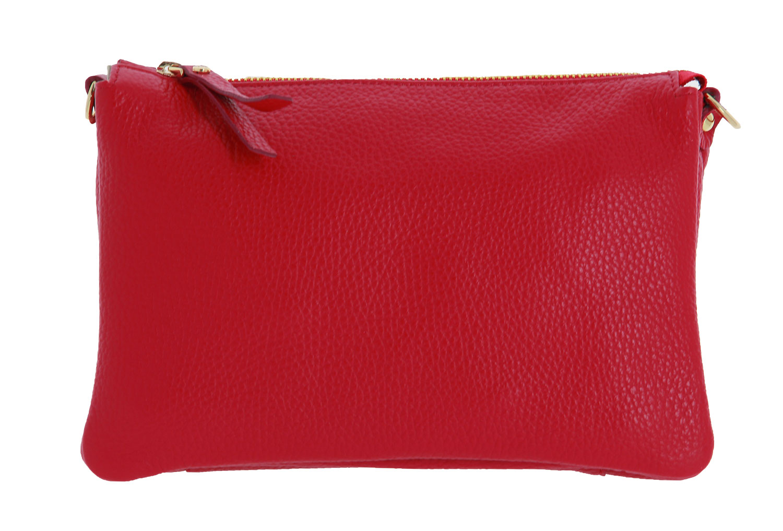 Carol J. shoulder bag DOLLARO CALF ROSSO