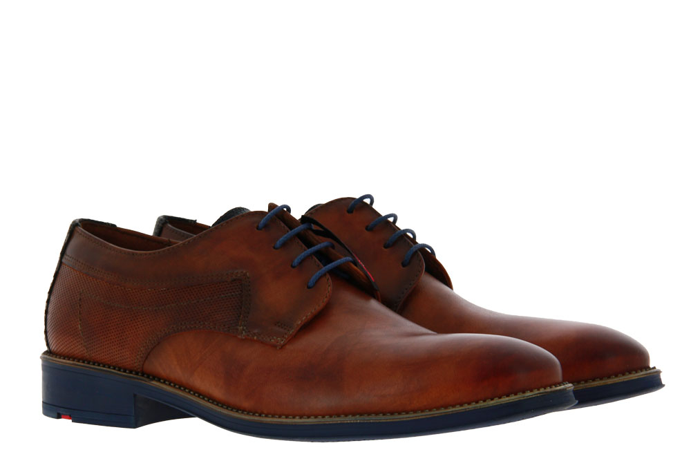 Lloyd lace-up GENF SMART CALF COCOS BLUE