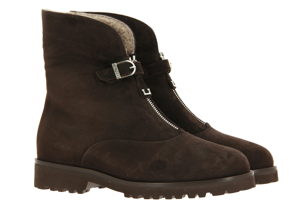 Unützer ankle boots lined CAMOSCIO AGNELLO TAUPE