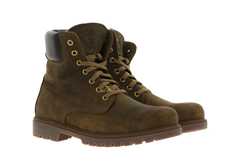 Panama Jack ankle boots lined PANAMA 03 IGLOO C22 NUBUK KAKI