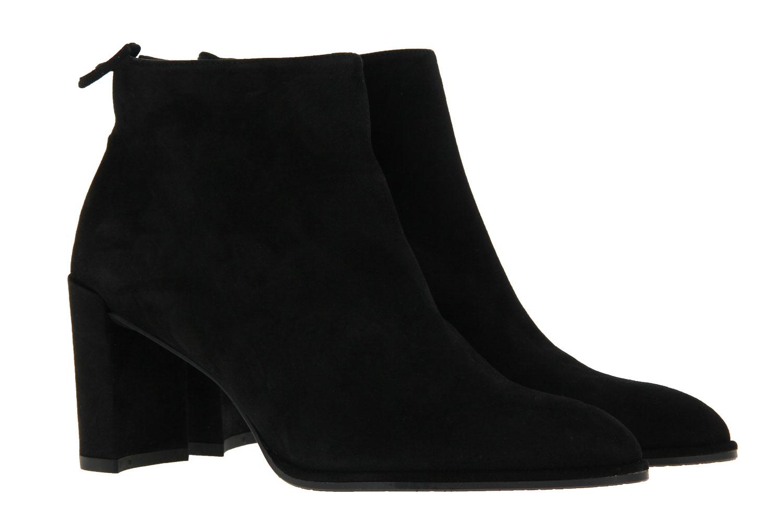 Stuart Weitzman ankle boots LOFTY BLACK SUEDE