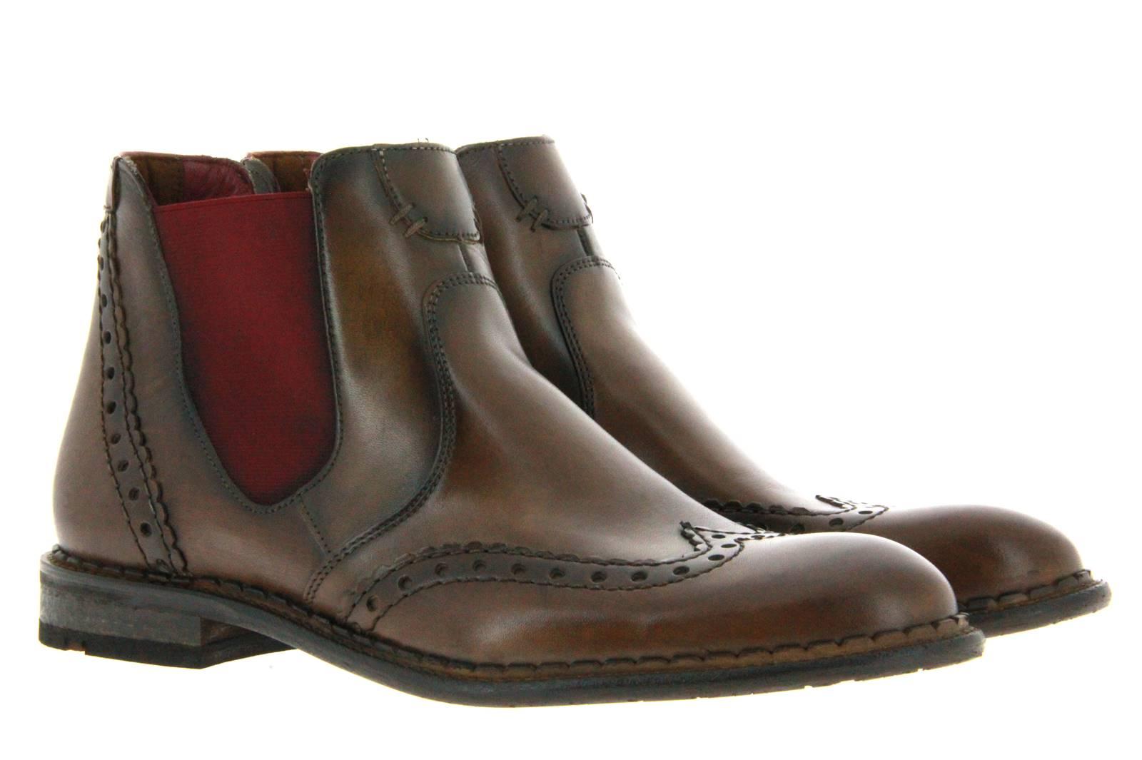 Lloyd boots GRENOBLE SPLENDOR CALF TOBACCO BORDO