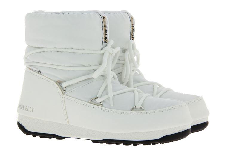 Moon Boot snowboots LOW NYLON WHITE