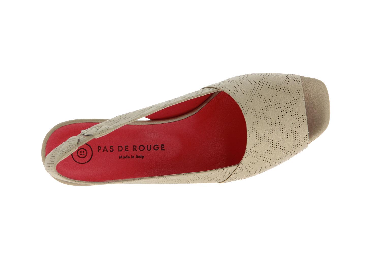 Pas de rouge sandals LIQUID PLATINO