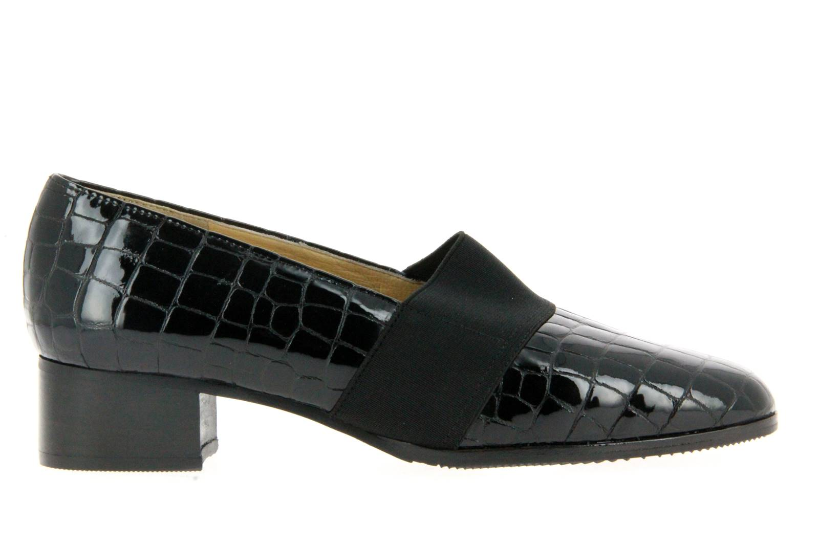 Brunate loafer ZOE APACHE NERO ELASTICO NERO