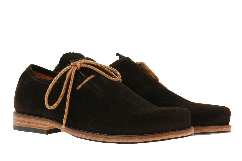 Dirndl + Bua traditional shoe ANTIKBOCK ALTSCHWARZ