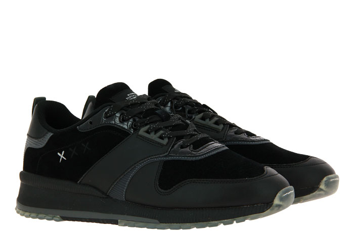 Scotch & Soda sneaker VIVEX LEATHER SUEDE BLACK