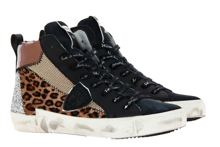 Philippe Model sneaker PARISX LEO MIXAGE BEIGE