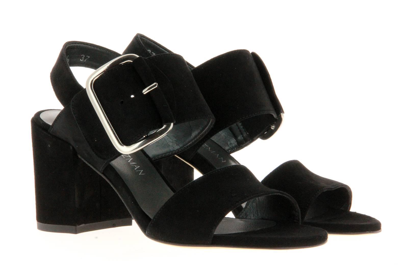 Stuart Weitzman sandal CITYSANDAL BLACK SUEDE