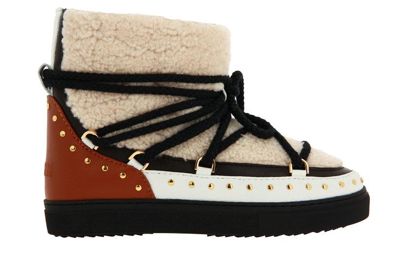INUIKII boots lined CURL ROCK CREAM