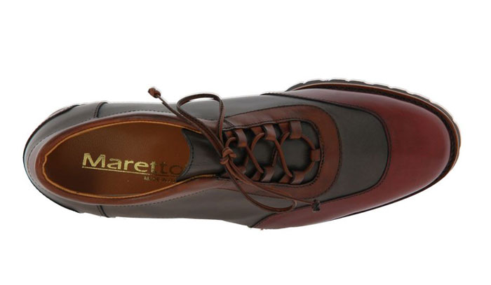 Maretto lace-up TAWNY BYRON TABACCO