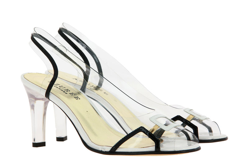 Azuree Cannes sandals MARACA CAMAIEU VERNIS NOIR
