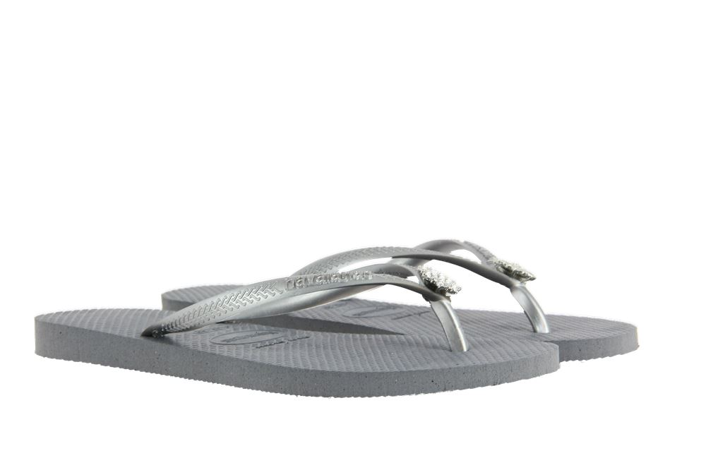 Havaianas toe sandals CRYSTAL POEM STEEL GRAY