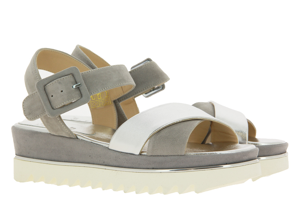 Luca Grossi sandals CAMOSCIO LIGHT GREY