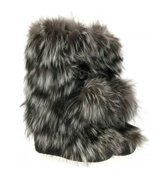 Diavolezza fur boots FOX CLOONEY