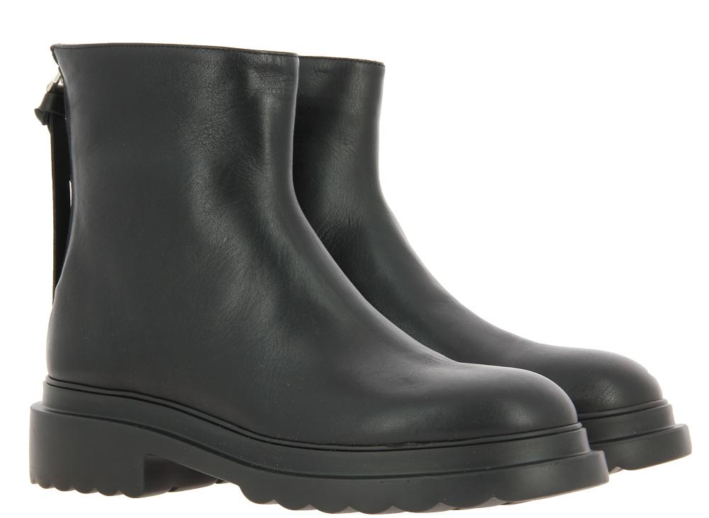 Pomme D'Or ankle boots SETA NERO GOMMA NERO