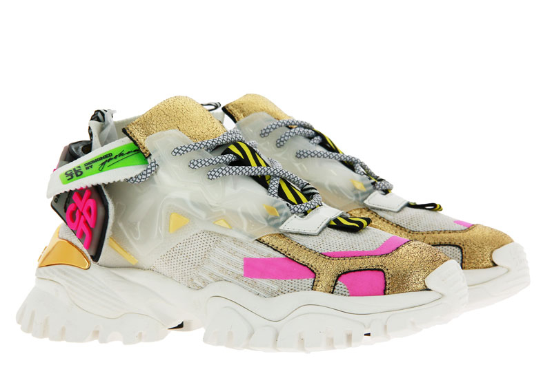 CLJD sneaker NAPPA TEXTIL WHITE