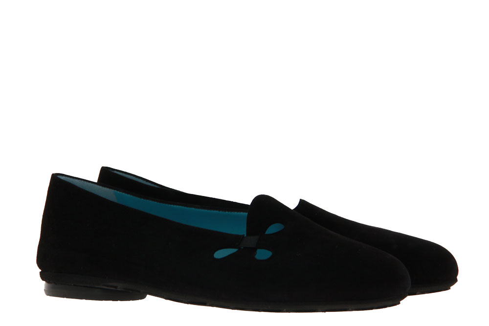 Thierry Rabotin slipper GALIA CAMOSCIO NERO