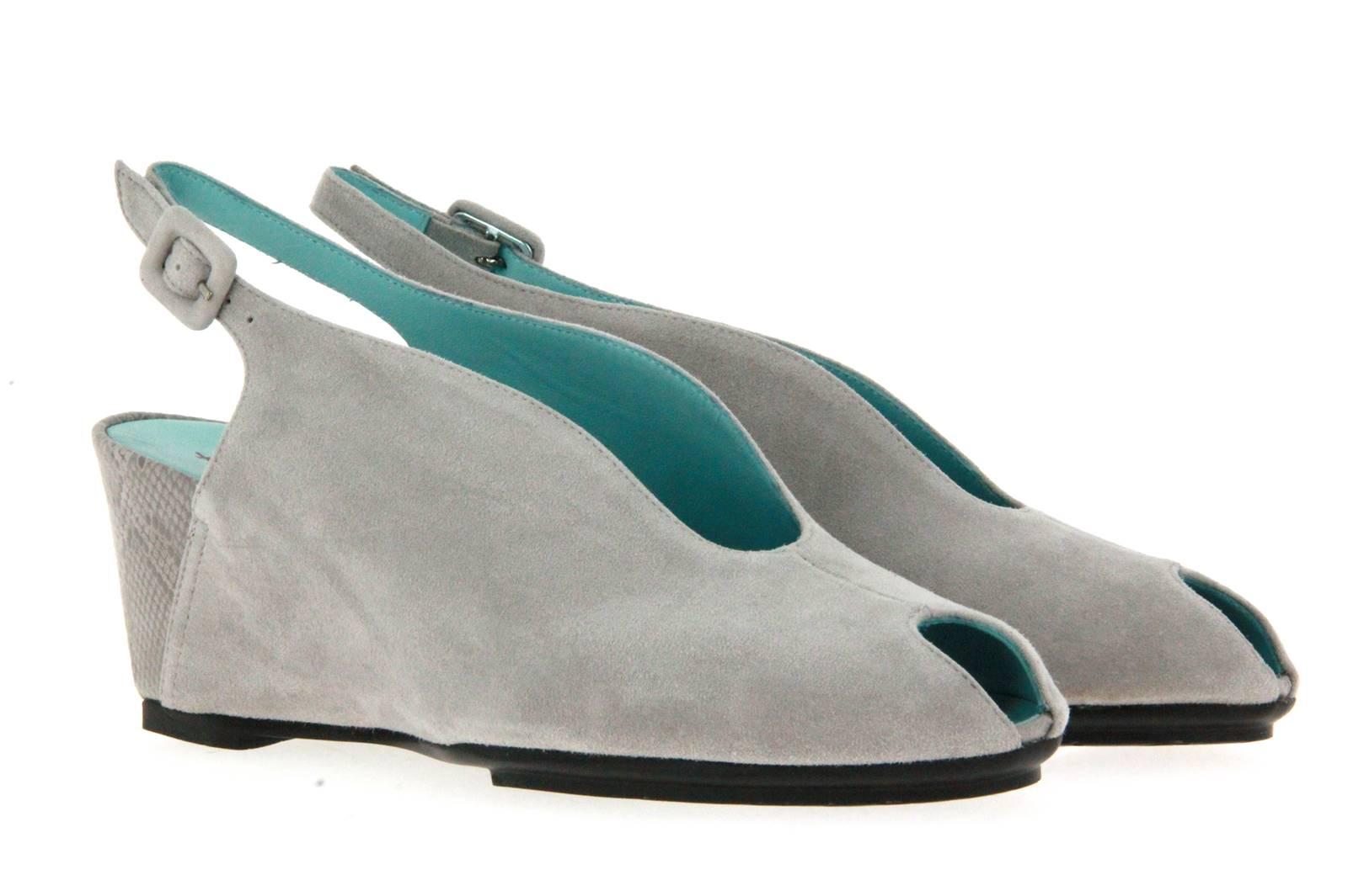 Thierry Rabotin sandal CAMOSCIO GREY BEIGE