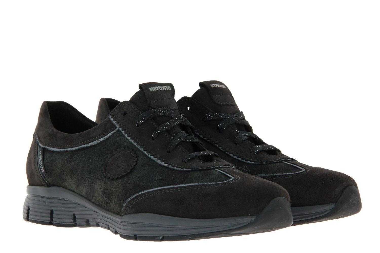 Mephisto sneaker YAEL VELOURCALF DARK GREY