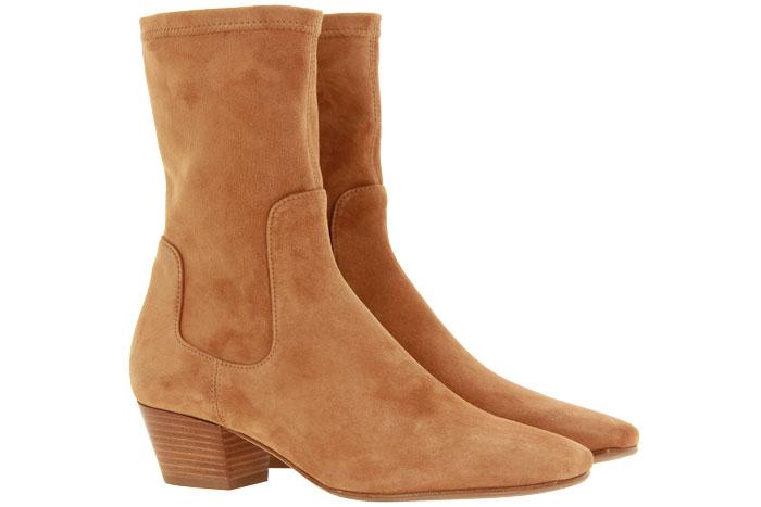Unützer ankle boots CAMOSCIO ELASTICO BRANDY