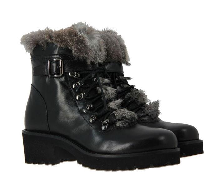 ScarpaRossa ankle Boots NAPPA NERA (41)