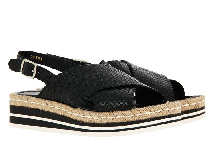 Pons Quintana sandals MILAN NEGRO BLANCO